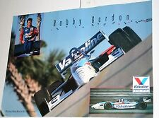 ROBBY GORDON CART INDY CAR VALVOLINE LARGE FULL COLOR ART POSTER 22 X 28