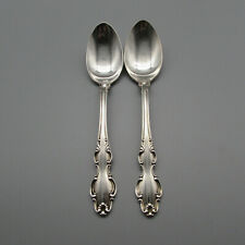 """Lot Of 6 Reed /& Barton English Crown Silverplate 6.5/"""" Tablespoons 1968 Vintage"""