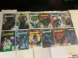 Batman #608 - #619 COMPLETE HUSH COLLECTION, KEYs DC COMICS DCU