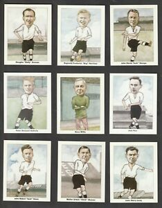 DERBY COUNTY Football Association Cup Winners 1946 Carter Stamps Parr Set of 15