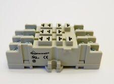 MAGNECRAFT 70-463-1 Socket, 11 Pin, DIN Rail/Panel, 300V, 15A