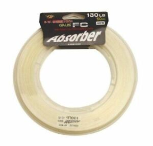 YGK Absorber Fluorocarbon Fishing Leader Line