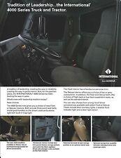 Truck Brochure - International - 4000 - Tradition of Leadership - c1991 (T1829)
