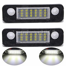 2pcs 18-LED SMD Bulbs License Plate Light Lamp For Ford Mondeo Fusion Fiesta New