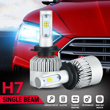 2x H7 180W PHILIPS LED Headlight Bulb Kit Driving Lamp Globes 6500K Replace HID