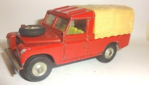 Corgi  Land Rover 109 WB Red With Rear Canopy