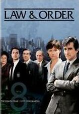 Law & Order: The Eighth Year [New DVD] Boxed Set, Repackaged, Snap Case