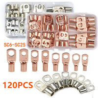Assorted Car Auto Copper Ring Lug Terminal Wire Bare Cable Crimp Connectors Kit