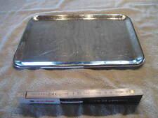 Edelstahl Verkaufsschale Schale Gastro Tablett ca 33 x 24 x 1cm Servierplatte 58