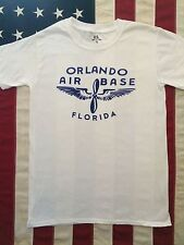 WWII US AAF Orlando Air Base Florida T Shirt Repro w Spec Tag Men's sz S - XL