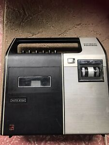 Vintage National Panasonic Portable Cassette Player Recorder Model RQ-226S