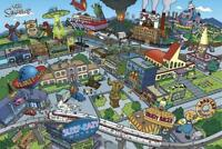 The Simpsons : Springfield - Maxi Poster 91.5cm x 61cm new and sealed