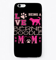 Love Being Bernedoodle Mom Gift Phone Case iPhone