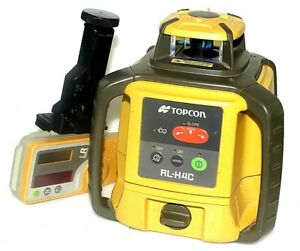 Topcon RL-H4C Self Leveling Rotating Laser Level Positioning System