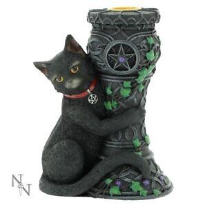 Midnight Cat Statue Figurine