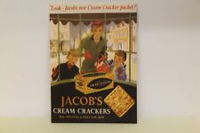 DOLLS HOUSE ( Retro  Metal Sign =  JACOB'S CRACKERS