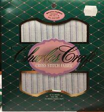 Charles Craft Waste Fabric 14 Count 12 X 18 Cotton NIP