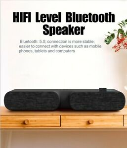 LED Speaker 5.0 Bluetooth Wireless For TV Home Sound bar Stereo Bass Cell Phone
