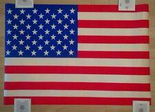 Vintage Gemini Rising American Flag Poster /U.S.A.