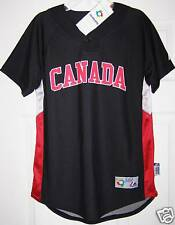 World Baseball Classic Canada Youth Cool Base Jersey LG