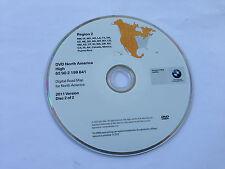 Genuine BMW X3 X5 (E53) Z4 Navigation DVD 841 Canada Mexico PR Map Update © 2011