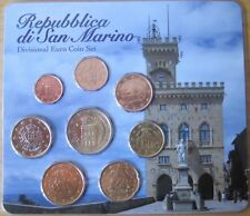 """MDS SAN MARINO EURO-KMS """"Coulter Euro Coin Set"""" in blister"""