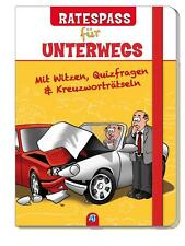Ratespaß für unterwegs mit Rätseln Witzen Cartoons Buch Geschenk 124894813