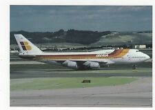 Iberia B747-300 Aviation Postcard, A664