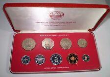 MALTA Decimal Proof Set - year 1979 uncirculated coins!