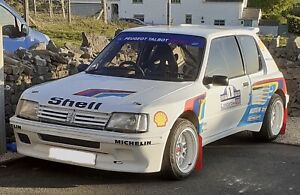 Peugeot 205 Turbo 16 - Full Size Decal Kit