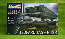 Leopard 1A5 et pont couche Biber échelle 1/72 Revell kit 03307