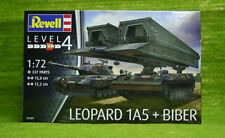 Leopardo 1A5 y puente capa Biber 1/72 Escala Kit Revell 03307