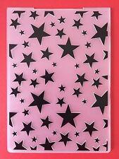 NEW• MULTI STARS EMBOSSING FOLDER For Cuttlebug Or Sizzix