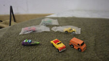 Vintage Micro Machines Lot of 6 Cars Vans Boat GM Corp. Red Convertible Car