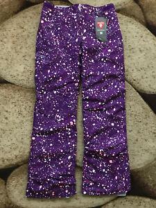 Under Armour Storm Primoloft Snowboard Ski Pants Girls Large Purple NWT $99.99