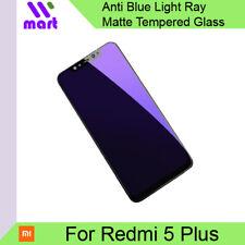 Anti Blue Light Ray Matte Tempered Glass Screen Protector for Xiaomi Redmi 5 Plu