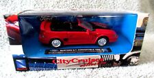 CITY CRUISER COLLECTION 1/43 SCALE DIE-CAST RED MUSTANG G.T.CONVERTIBLE 1994