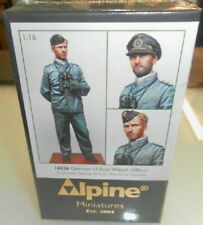 Alpine Miniatures German U-Boat Watch Officer, 1:16 scale (120mm) Kit, 16036 NIB