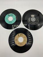Lot of 3 x 45s Ritchie Valens DONNA / LA BAMBA, Big Bopper, McLean American Pie