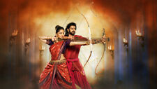 Baahubali 2 the conclusion Silk Poster/Wallpaper 24 X 13 inches