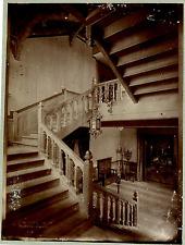 Belgique, hall à identifier Vintage print.  Photomécanique  20x25  Circa 1