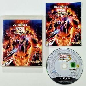 SONY PlayStation 3 Spiel ULTIMATE MARVEL vs CAPCOM 3 dt PAL 2D Arcade Beat'em Up