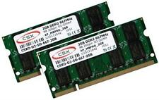2x 2gb 4gb de memoria 667 MHz Apple MacBook 4,1 RAM 2007/2008 modelos SO-DIMM