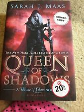 Signed Sarah Maas Queen Of Shadows