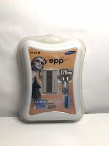 Samsung Yepp Digital Audio Player  (yp-35 H) mp3 128MB NIB voice records