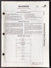 Advanced Micro Devices (Amd) - Am 29000 Processor Data Sheet (1988)