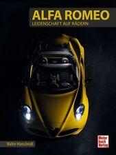 Buch Alfa Romeo Leidenschaft auf Rädern Walter Hönscheidt Motorbuch Verlag