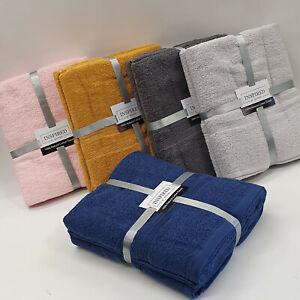 2 Piece Bath Sheet Towel Set. Choice of Colours