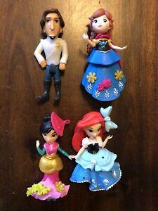 Little Dolls Kingdom Magic Clip Disney Princess Royal Fashion Snap-ins Hasbro 4