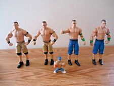 "Mixed Lot Of 5 John Cena Wrestler Action Figures "" GREAT COLLECTIBLE LOT """